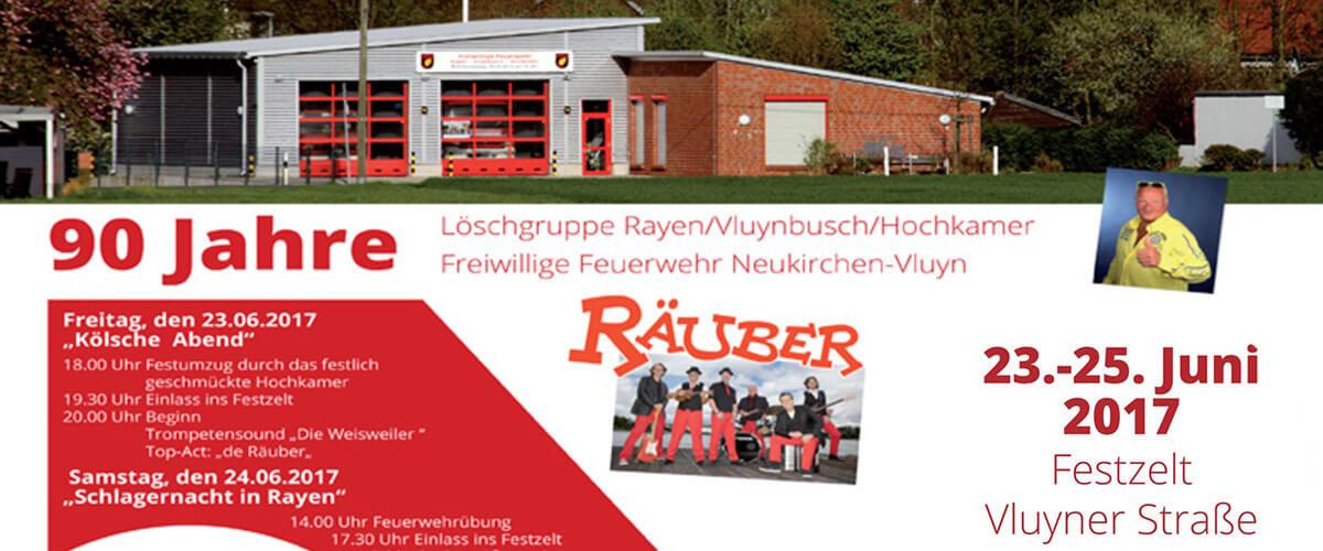 90 Jahre Löschgruppe Rayen-Vluynbusch-Hochkamer