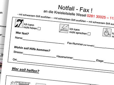 Notfallfax
