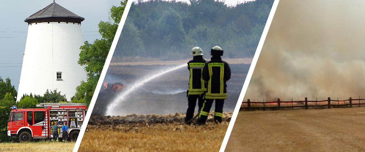 Feuerwehr Moers und Neukirchen-Vluyn gemeinsam im Einsatz