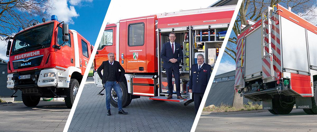 Ein neues Katastrophenschutzfahrzeug für die FFNV